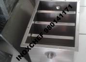 Trampa de grasa lavadero acero inoxidable 2545930 inoxchef sac