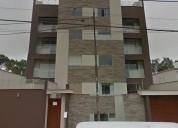 Venta departamento en zona residencial en san borja, urb. monterrico norte