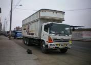 transporte de carga pesada y mudanzas