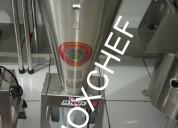 Licuadora pelador de ajos papas batishake stock 2545930