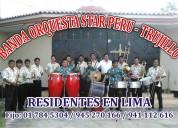 Banda de musicos de lima star peru 941112616