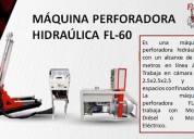 MÁquina perforadora hidrÁulica  fl-60 fluimec