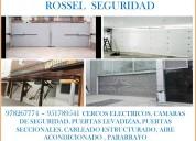 978267774 - 951789541 puertas levadizas, puertas seccionales, cercos electricos