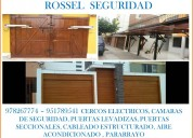 978267774 rossel seguridad, cercos eléctricos e instalaciones eléctricas