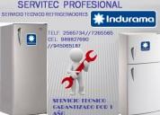 Servicio tecnico indurama refrigeradoras = 945065187