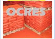 Venta de ocre importado y nacional a nivel lima peru  999602605