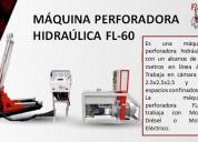 MÁquina perforadora hidraÚlica fl-60