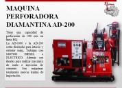 maquina perforadora  ad-200 para minas