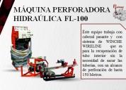 MÁquina perforadora hidrÁulica fl-100