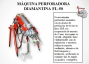 maquina packsack perforadora neumÁtica fl50 para recuperaciÓn de muestra