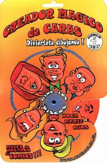 CREADOR MAGICO DE CARAS COMICS