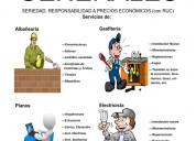 Albañilería - tecnico en construcción civil