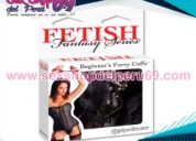 Fetish fantasy series beginner's furry cuffs-sexshop del peru