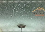 Escarchado decorativo para techos y paredes acabado texturado.tlf:. 999 997 222-