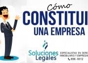 Constituir empresa rapido lima soluciones legales abogados