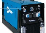 Alquiler de generadores-maquinas de soldar y suministros para soldadura