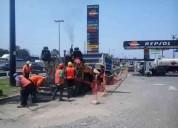 Servicio de asfaltado por m2 en lima