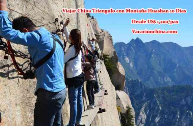 China Triángulo Dorado con Montaña Huashan 10 Dias