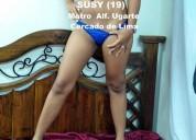 Susy(19) - hermosa colombiana busca un discreto caballero discreto, lima – 19