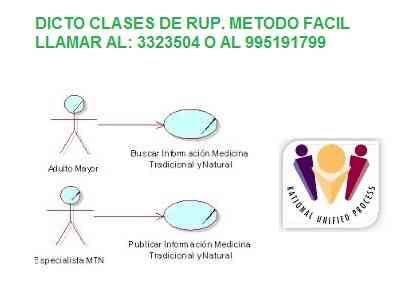 Clases de RUP a Domicilio- Ing,de Sistemas
