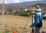 Realizamos servicios topogrÁficos  y planos de viviendas  en general