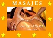Masajies en lince por masajista varon profesional alexander