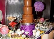 alquiler de piletas de chocolate