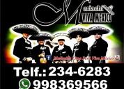 Mariachi viva méxico telf 234-6283 whatsapp 998369566. perú