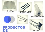Productos de sostenimiento  - split set