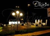 Alquiler de barras y mesas altas para eventos de todo tipo