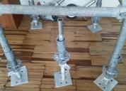 Venta de husillos niveladores para andamios husillos niveladores, abrazaderas, plataformas