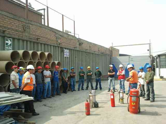 Capacitacion de Uso y Manejo de Extintores Firestar 3302726