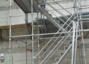 Venta y alquiler de escalera de acceso de medidas variables