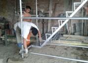 Fabricamos andamios con escaleras acceso venta y alquiler andamios