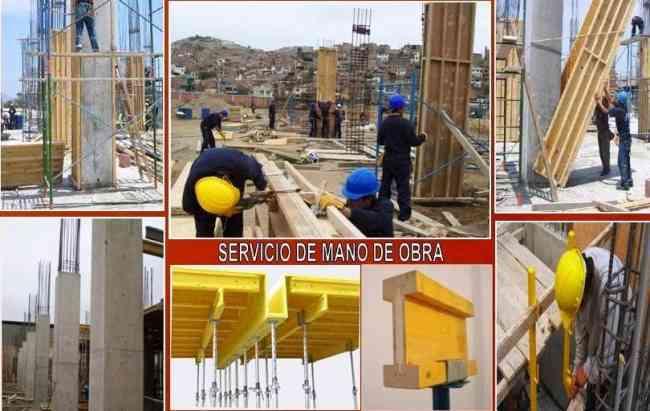 ENCOFRADO METÁLICO Y DE MADERA, Alquiler y Venta