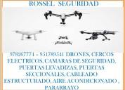978267774, 951789541, drones, cámaras de seguridad, cámaras de vigilancia