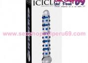 Carambanos nº 50 - consoladores de vidrio - sex juguetes eroticos