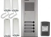 Instalacion de chapas e intercomunicadores