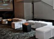Alquiler de salas lounge para eventos integrales