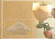 La forma más rápida y económica de decorar su casa;  es usar el escarchado  rpc:.999 997 222-