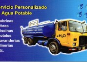 Transporte de agua potable esgal, chorrillos - lima