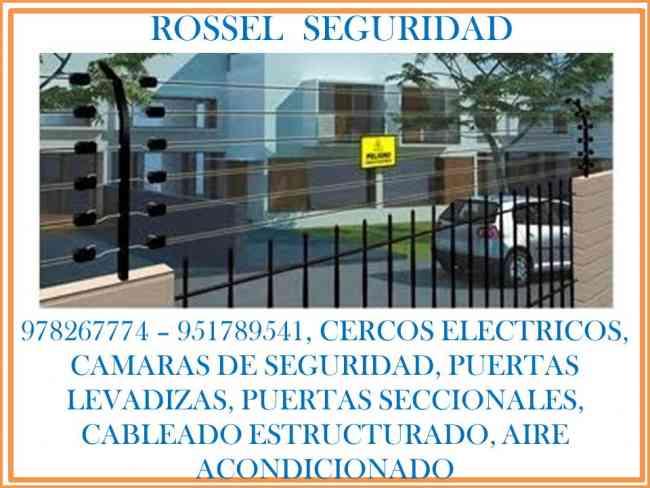 978267774 cercos eléctricos, cámaras de seguridad