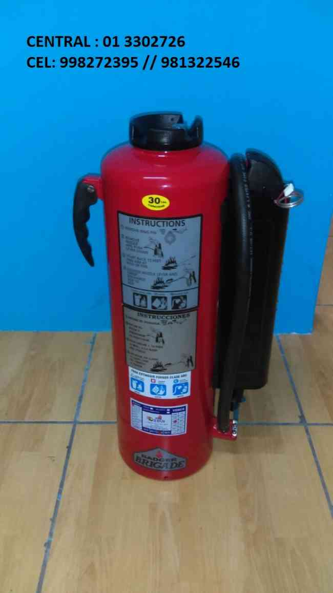 Extintores con Certififcacion UL en Cajamarca para Grifos Firestar