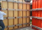 Paneles de madera y metalicos para encofrados venta y alquiler