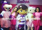 Burbuja eventos fiestas infantiles , show infantil lima