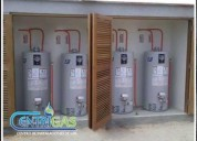 instalaciones de redes de gas doméstico, industrial y comercial,