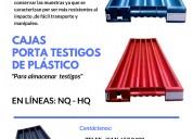 Cajas portatestigos livianas y resistentes
