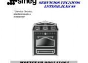 Smeg cocinas mantenimiento servicio tecnico lima estufas