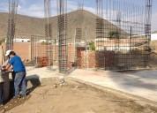 Ingeniero civil colegiado, construyo casas y departamentos: casco tarrajeado