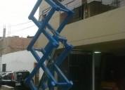Venta , alquiler y reparación de elevador tipo tijera 981379192